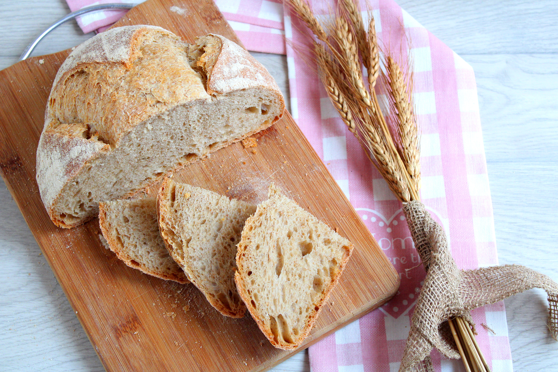 """il pane con farine miste o """"svuotasachetti"""""""